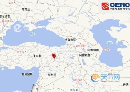 土耳其6.8级地震最新消息 已致31人死亡1547人受伤