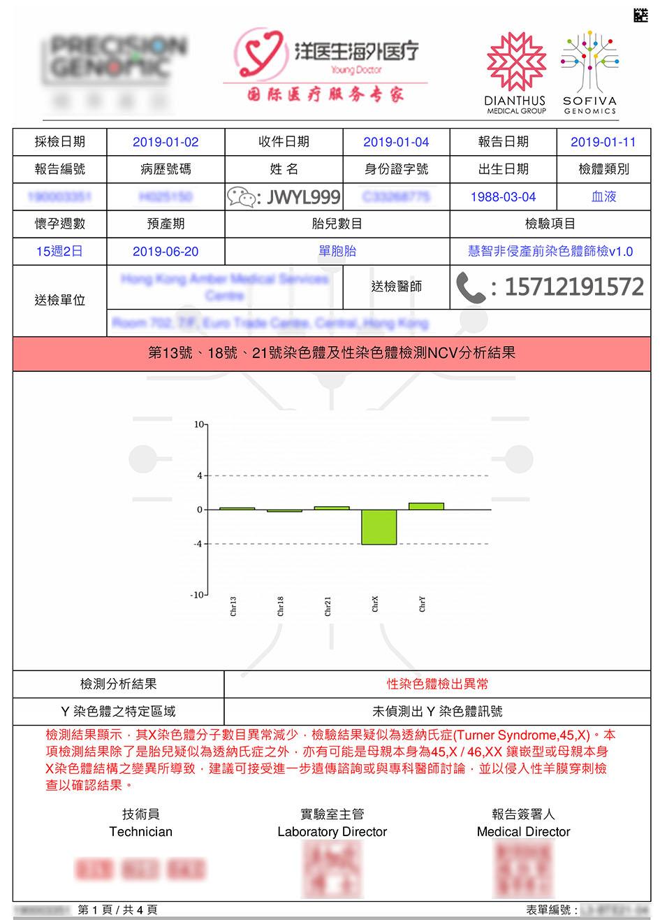 香港无创DNA产前检