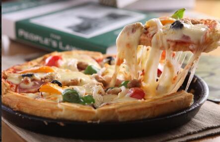 加盟掌上披萨 演绎美