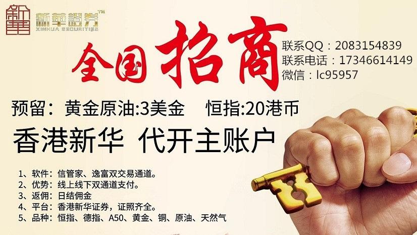 香港新华证券有