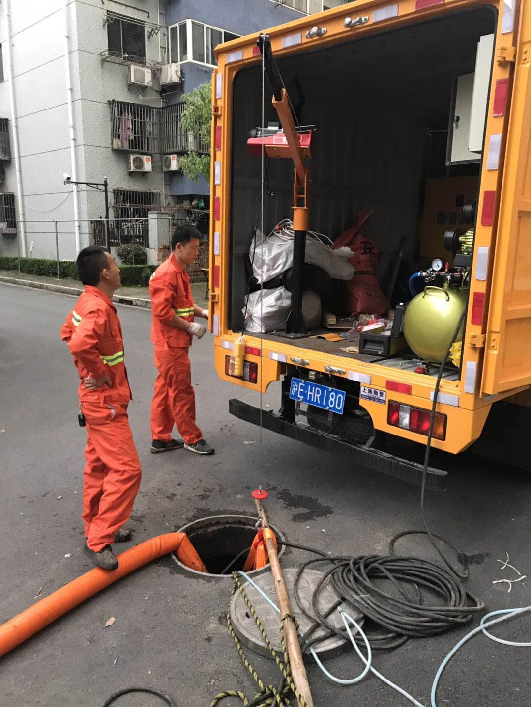 上海闵行管道封