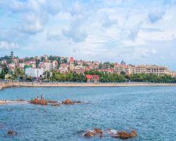 青岛海滨风景