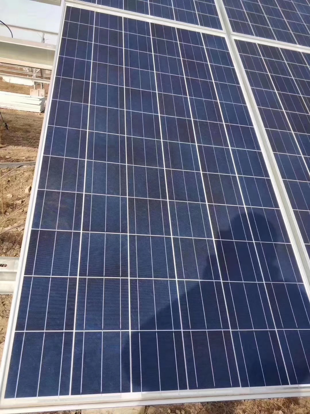 太阳能发电板单多晶