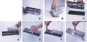 积水潭安装玻璃门锁 更换玻璃门地弹簧