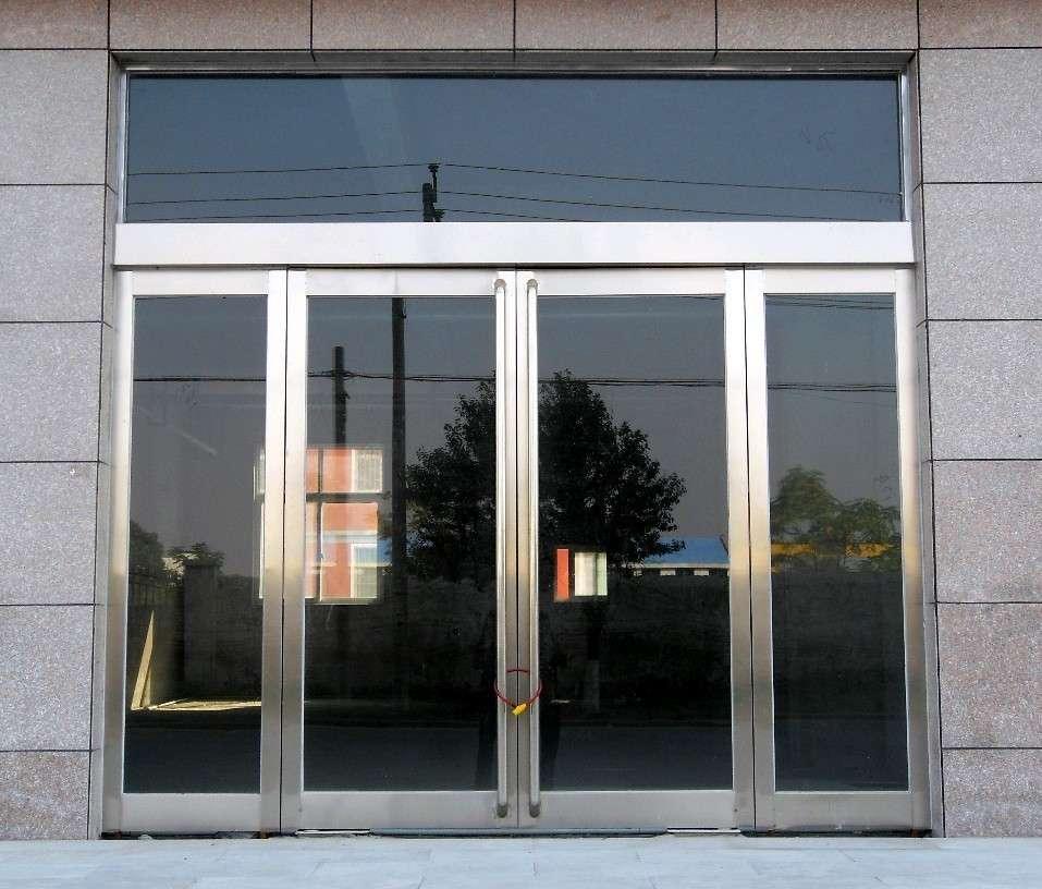 雁翅安装维修玻璃门 更换玻璃