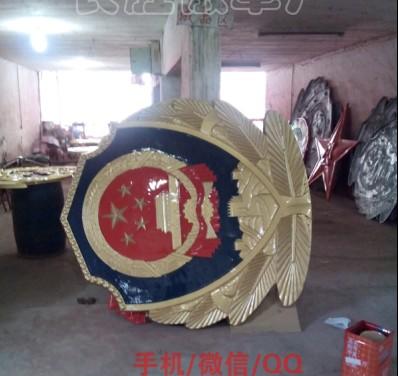 山东优质3米警徽生产