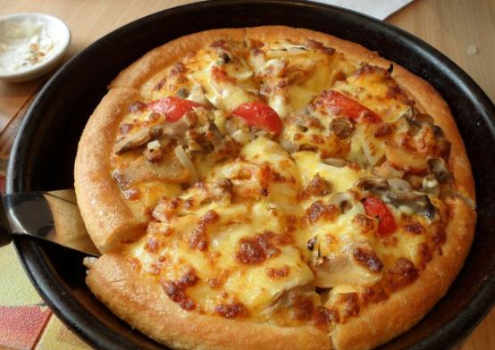 掌上披萨创意十足 用