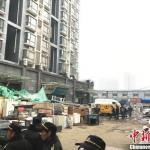 郑州一小区热力管道